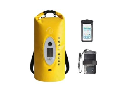 Soul Gear Waterproof Dry Bag Speaker