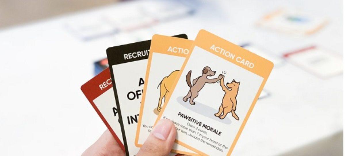 Unbearable Warfare Strategic Card Game