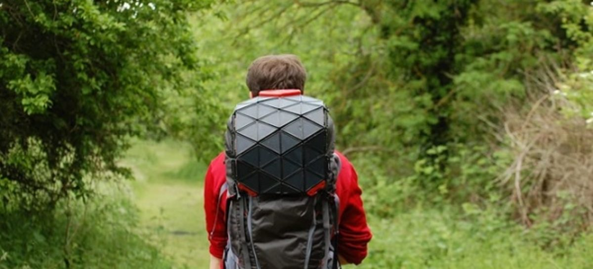 North Face SunUp Solar Backpack