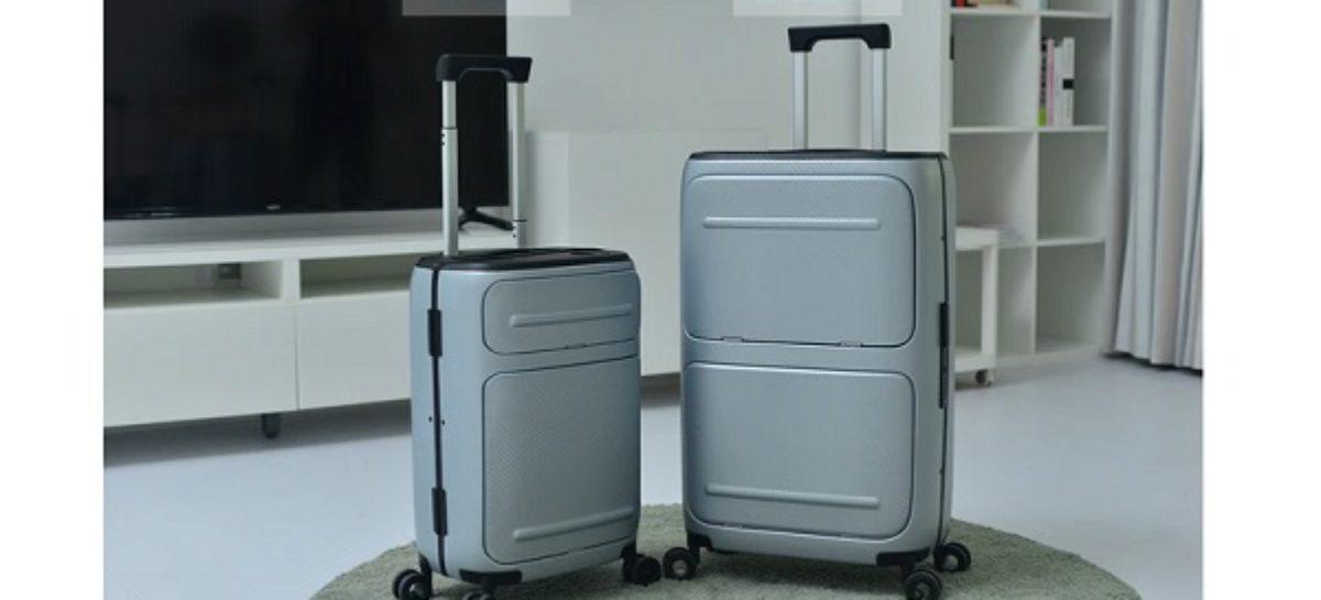 SkyTrek Vertically Opening Smart Luggage