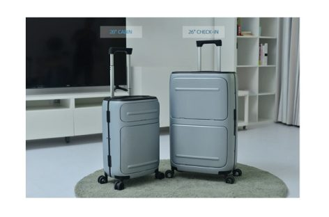 SkyTrek Vertically Opening Smart Luggage
