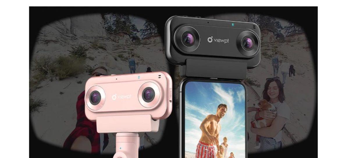 VIEWPT VR180 Nano 4K VR Livestreaming Camera