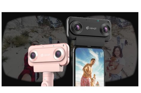 VIEWPT VR180 Nano 4K VR Livestreaming Camera
